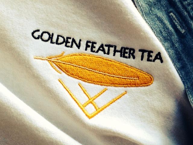 Golden Feather Tea Logo