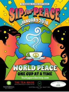 Sip for Peace Poster