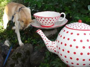 Paper Mache Teapot Project