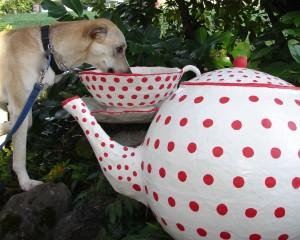 Teatime Craft: Paper Mache Teapot and Teacup