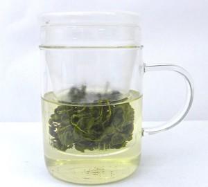Tea-in-glass-infuser