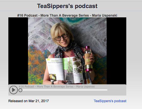 Tea Sipper Podcast #16: Maria Uspenski