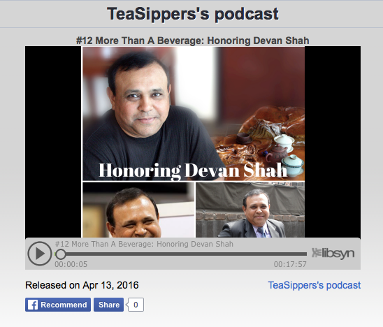 Tea Sipper Podcast #12: Devan Shah