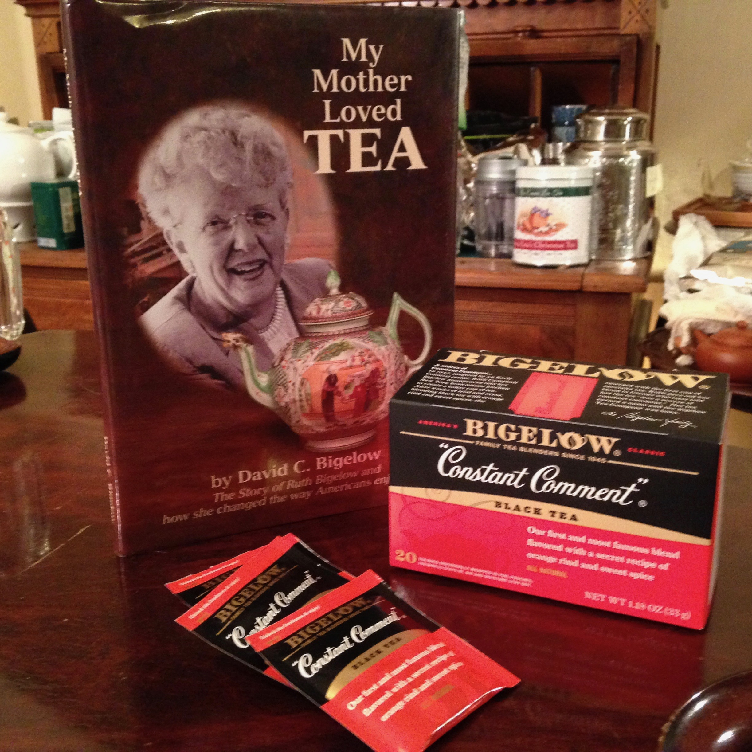 "Constant Comment Teabags & ""My Mother Loves Tea"""