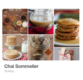 Pinterest Board: Chai Sommelier