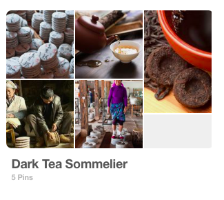 Pinterest Board: Dark Tea Sommelier