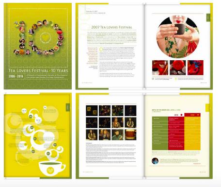 tea lovers festival - the book
