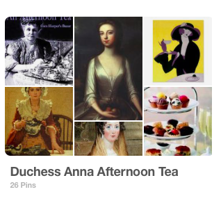 Pinterest Board: Duchess Anna Afternoon Tea