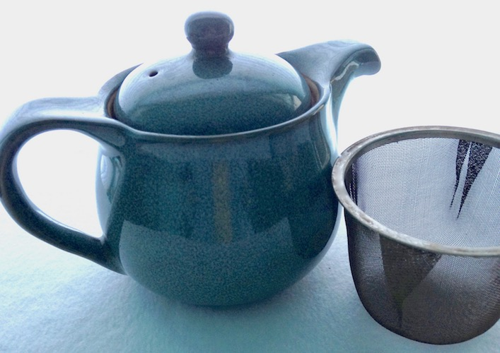 Small Turquoise Teapot