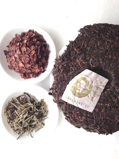 3-teas-cacao-puerh-white silver needles