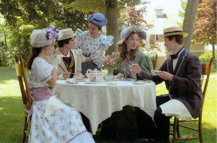 Come With Your Girlfriendsmothersgrandmothers And Grandaughters To FOXFIRE MANSION For A Formal Tea Party Complete Scones Sandwiches